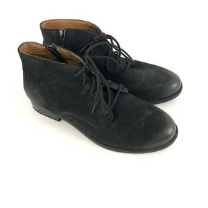 Vionic Mira Black Ankle Boots Booties Lace Up
